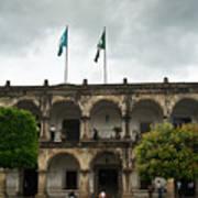 City Square Antigua Guatemala Poster