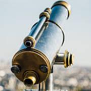 City Telescope Poster