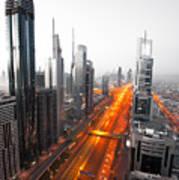 City Veins Dubai Poster
