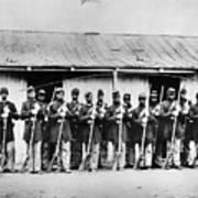 Civil War: Black Troops Poster by Granger