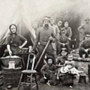 Civil War: Camp Life, 1861 Poster