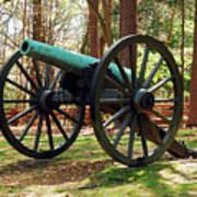Civil War Cannon Poster