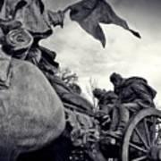 Civil War In Bronze Poster