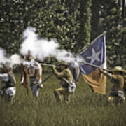 Civil War Re-enactment Poster