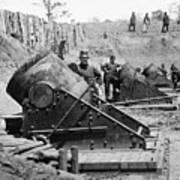 Civil War: Union Mortars Poster