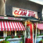 Clam Box Restaurant - Ipswich Ma Poster by Joann Vitali
