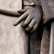 Clasped Hands - Sculpture Garden Nola Poster