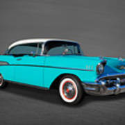 Classic 1957 Chevrolet Bel Air Sport Coupe Poster