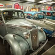 Classic Car Memorabilia Poster