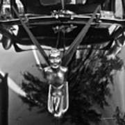 Classic Chevy Fleetline Hood Ornament 1 Poster