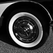 Classic Corvette Lines Poster