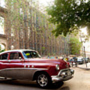Classic Cuba Car Vii Poster