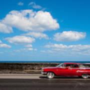 Classic Cuba Car V Poster