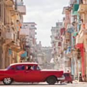 Classic Cuba Car Viii Poster
