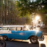 Classic Cuba Car Xii Poster
