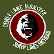 Classic Dlm Logo, Round Poster
