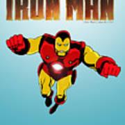 Classic Iron Man Poster