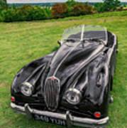 Classic Jag Poster
