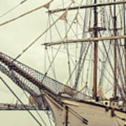 Classic Sail Ship Poster