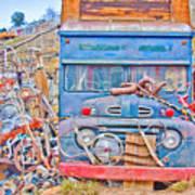Classic Ward Colorado Boulder County Poster