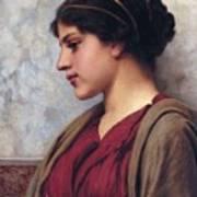 Classical Beauty John William Godward Poster
