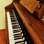 Vintage Organ Poster