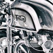 Classical Triton Cafe Racer Poster