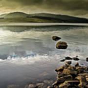 Clatteringshaws Loch Poster