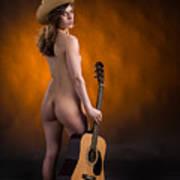 Claudia Nude Fine Art Print In Sensual Sexy Color 4875.02 Poster