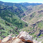 Clear Creek Canyon Poster