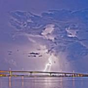 Clearwater Memorial Bridge II Poster