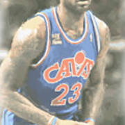 Cleveland Cavaliers Lebron James 1 Poster