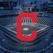 Cleveland Indians Baseball Poster