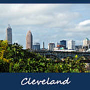 Cleveland Poster Poster