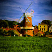 Cley Mill Norfolk Poster