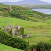 Clifden Castle Poster