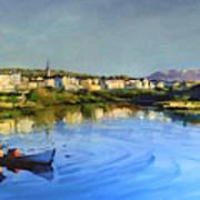 Clifden Harbour Poster