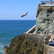 Cliff Divers Poster