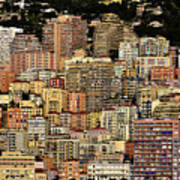 Cliff Dwellers Of Monte Carlo Poster