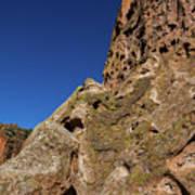 Cliffs At Bandelier Poster