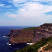 Cliffs of Moher Aill Na Searrach Ireland Poster