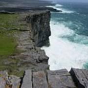 Cliffs Of The Aran Islands 5 Poster