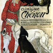Clinique Cheron - Vintage Clinic Advertising Poster Poster