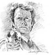 Clint Eastwood As Callahan Poster