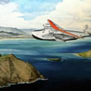 Clipper at the Makapu'u Light Poster