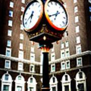 Clock Poster by Kelly Hazel