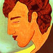 Close Up Man Sleepng Poster