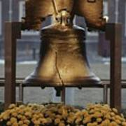 Close View Of The Liberty Bell Poster by Kenneth Garrett