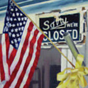 Closed For Business Poster