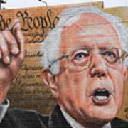 Closeup Of A Beautiful Mural Poster